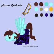 Arrow Goldtwin