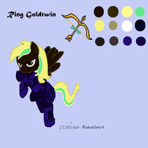 Ring Goldtwin
