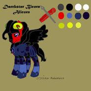 Darckstar Bicorn Alicorn