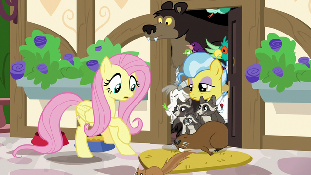 File:Animals spilling out of Dr. Fauna's clinic S7E5.png