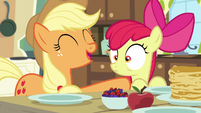 Apple Bloom having deja vu S5E4