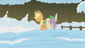 Applejack and Spike disappointed S1E11.png