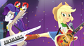 Applejack kicks Rarity away from her EG2.png