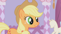 Applejack looks confused S1E14