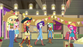 Applejack welcomes her friends to the party EGDS25.png