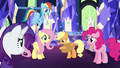 Applejack with hat over her heart S5E3.png