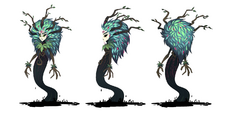 Legend of Everfree - Gaea Everfree turnaround by Madison Tuff
