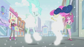 Lyra and Sweetie Drops hit by 'fashion blast' EG2.png