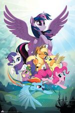 MLP The Movie Enterplay poster