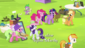 Mane 6 and Spike at the Traders Exchange S4E22.png