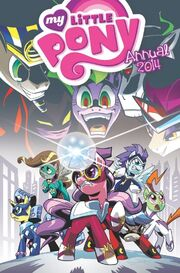 Okładka Komiks rocznicowy 2014