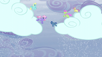 Pegasi making the clouds snow S5E5