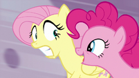 "Pinkie Pie ""it's a surprise party"" S9E1"