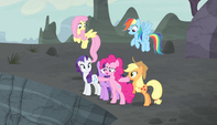 Pinkie Pie -Stay behind me, everypony!- S5E1