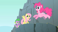 Pinkie Pie on the edge of a cliff S1E15.png