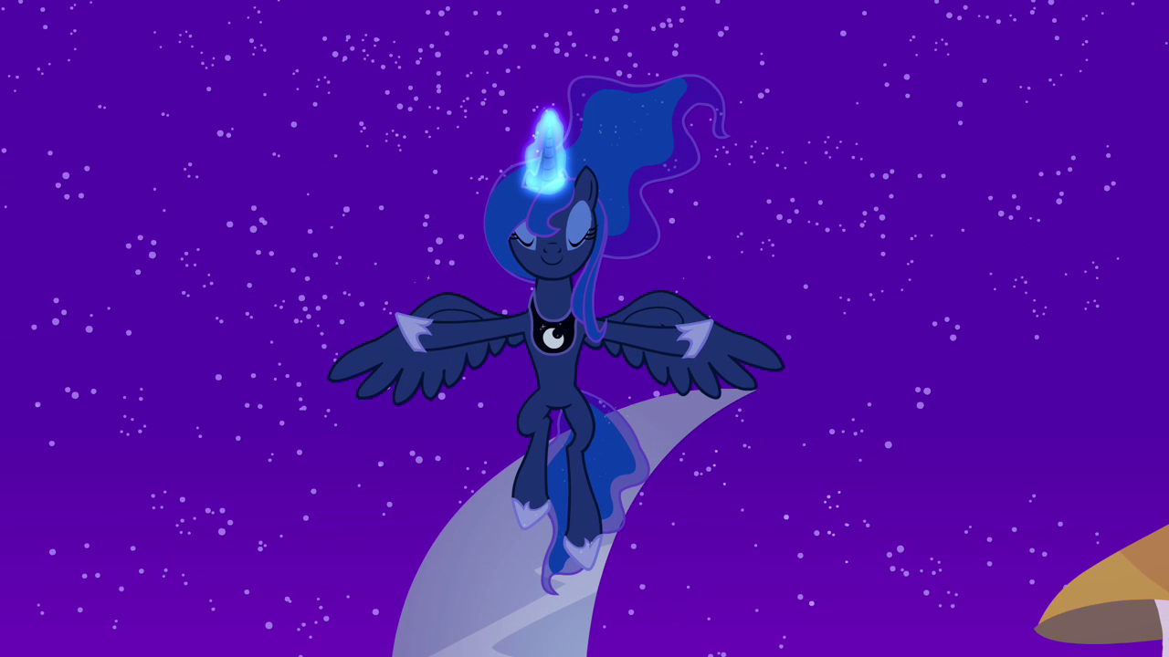 image princess luna lowering the moon s4e02 png my little pony