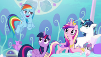 Rainbow --we've all faced a lot worse-- S6E1