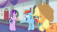 Rainbow Dash -we're terrible teachers!- S8E1