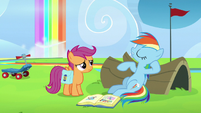 Rainbow Dash -yeah, right!- S7E7