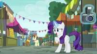 Rarity --actually just kind of excited-- S6E3