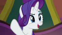 Rarity singing --you've got what it takes-- S6E12