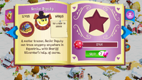 Senior Deputy album page MLP mobile game