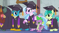 "Silverstream ""practicing for graduation!"" S8E26"
