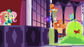 Smooze follows Pinkie onto the dance floor S5E7.png