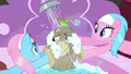 Spa ponies scrubbing Cranky S2E18.png