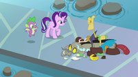 Starlight Glimmer happy to see Discord S8E15