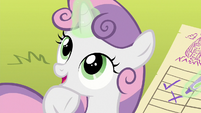"Sweetie Belle ""pretty much sums it up"" S8E6"