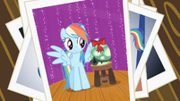 Tank's failed photo with Rainbow Dash S2E7