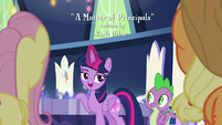 "Twilight Sparkle ""a seventy-point plan"" S8E15"