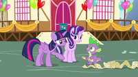 "Twilight Sparkle ""you've got this, Spike!"" S7E15"