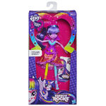 Twilight Sparkle Equestria Girls Rainbow Rocks neon doll packaging