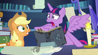 "Twilight Sparkle freaks out ""two days?!"" S7E25"