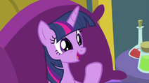 "Twilight Sparkle happy ""it worked!"" MLPS2"