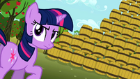 Twilight heroic pose S2E15