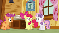 Apple Bloom 'of course you can go!' S3E06