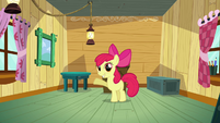 Apple Bloom introducing the CMC's clubhouse S3E04