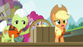 Applejack sees the approaching cave S4E09.png