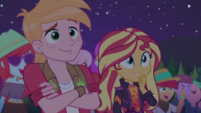 Big Mac and Sunset Shimmer impressed CYOE12b