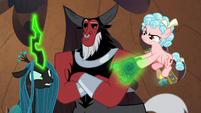 Chrysalis wrestling bell away from Cozy S9E24