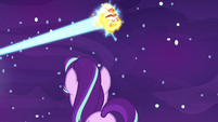 Daybreaker goes sailing over Starlight Glimmer S7E10