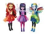Equestria Girls Friendship Power Assortment dolls