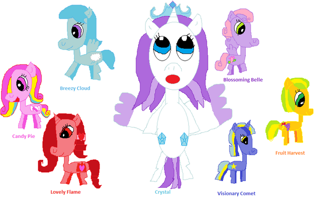 File:FANMADE all of my OCs.png