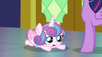 Flurry Heart falling over S7E3