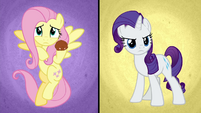 Fluttershy and Rarity about to storm the office BGES3