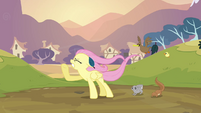Fluttershy in the wind S2E22