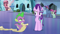 Humble Spike and sneaky Starlight S6E1